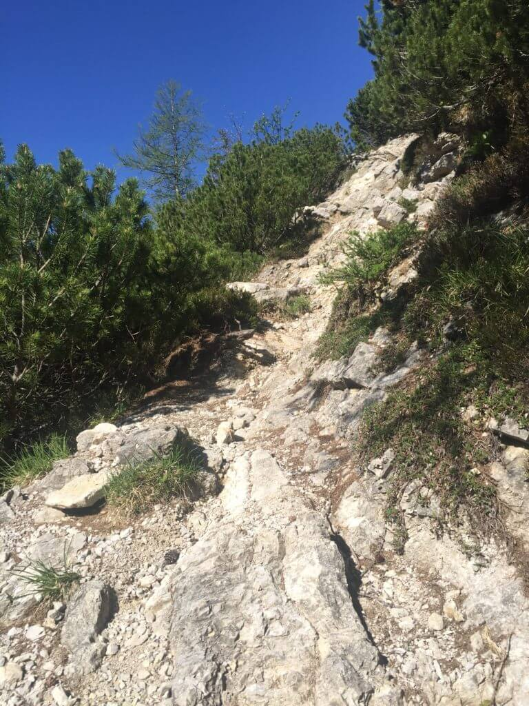 AAT_Alpe-Adria-Trail_Wegbeschaffenheit_Fels und Stein
