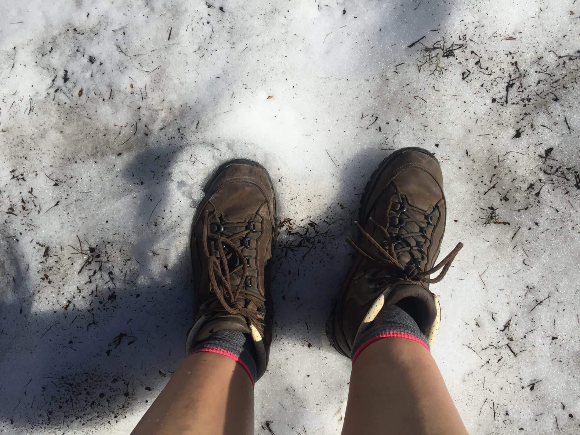 AAT_Alpe-Adria-Trail_Wegbeschaffenheit_Schnee