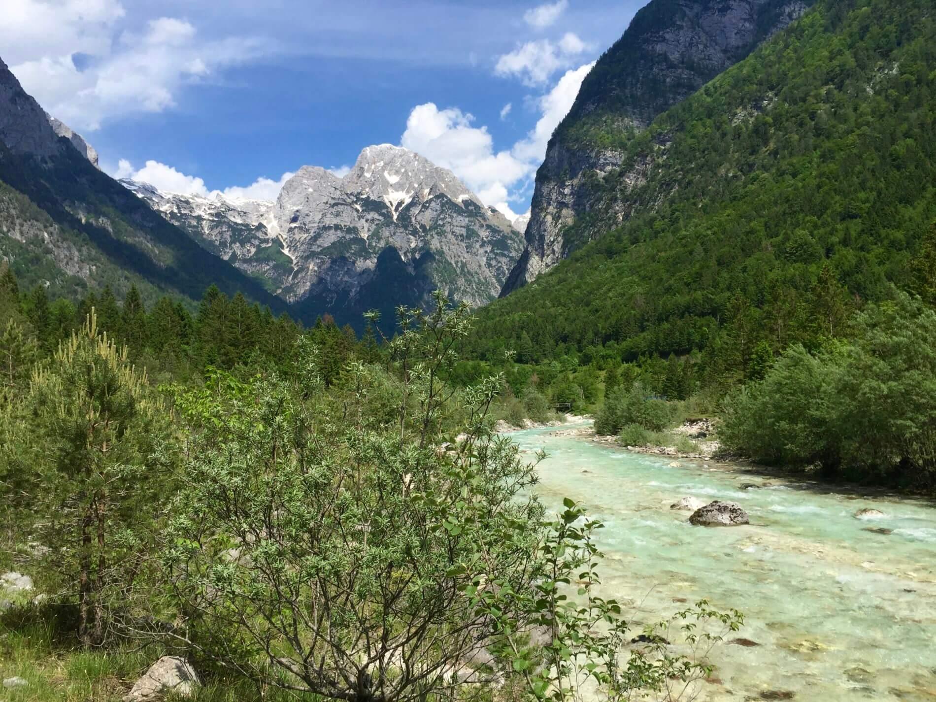 AAT_Alpe-Adria-Trail_Soča und Berge
