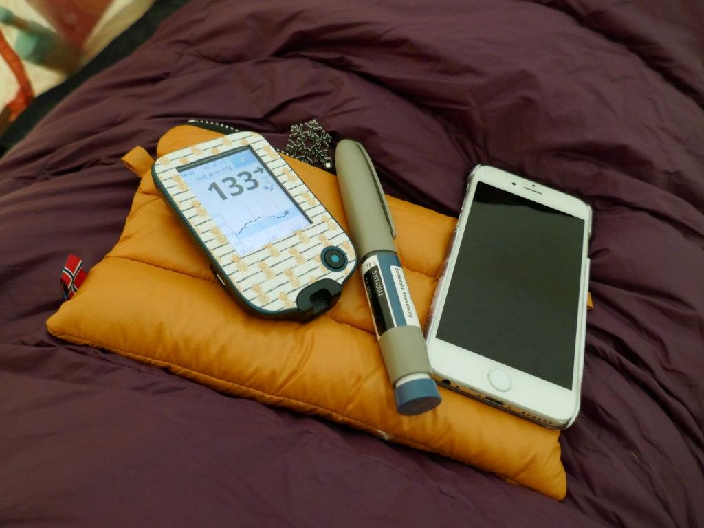 Winterzelten mit Diabetes_Insulin warmhalten